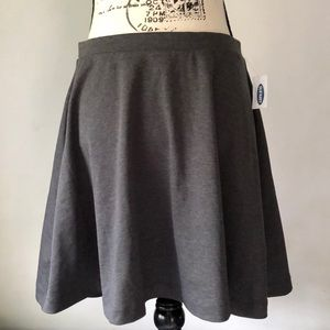 Old Navy Gray Skirt